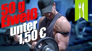 Bestes Fitness Rezept unter 1,50 Euro