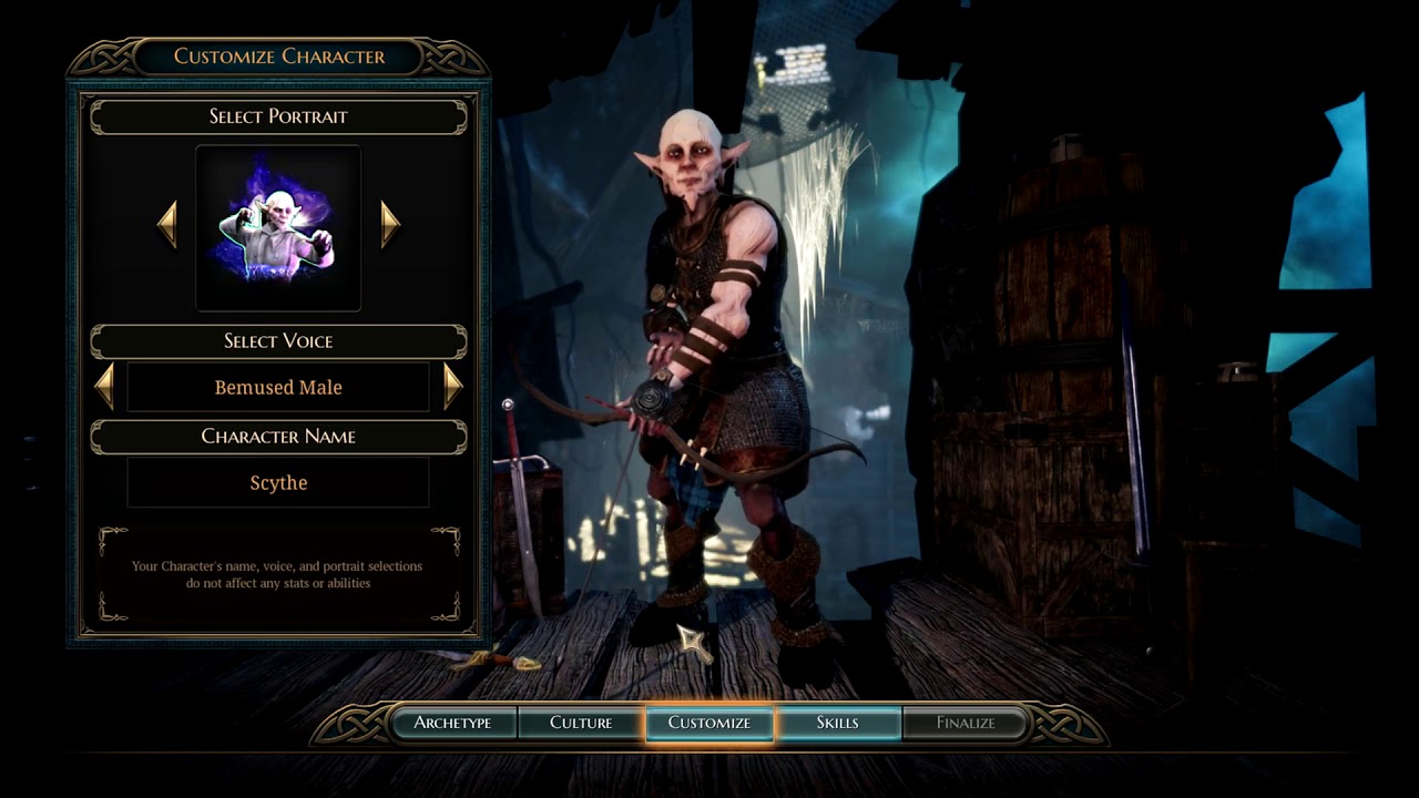 Bard's Tale IV and flop of 3 abilities per character