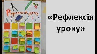 Рефлексія уроку