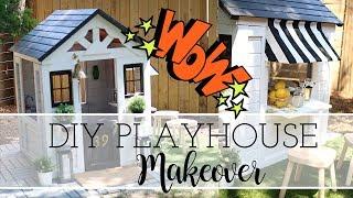 DIY Playhouse Makeover!