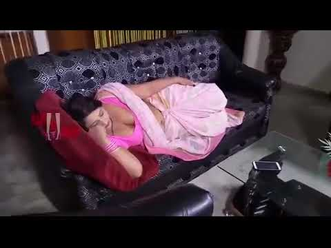 Sleeping Aunty Romancing With young boy New Hindi thumbnail