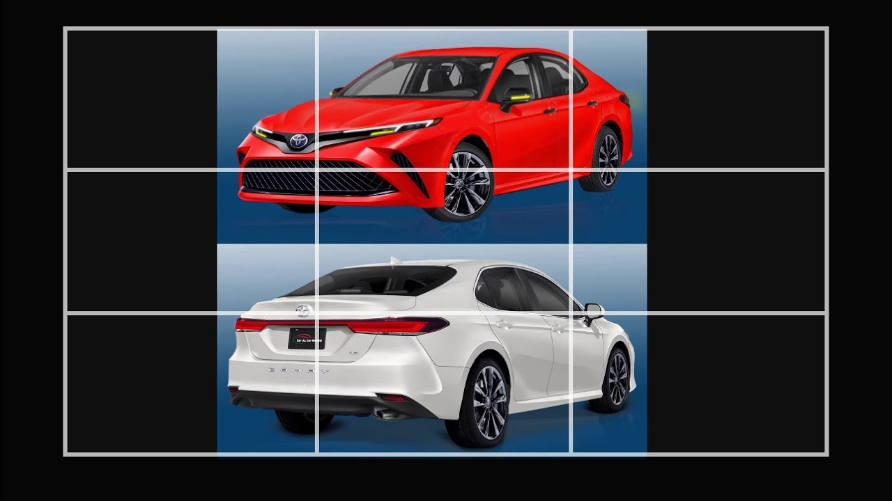 The 4 Toyota Camry mid cycle refresh. (First Look)