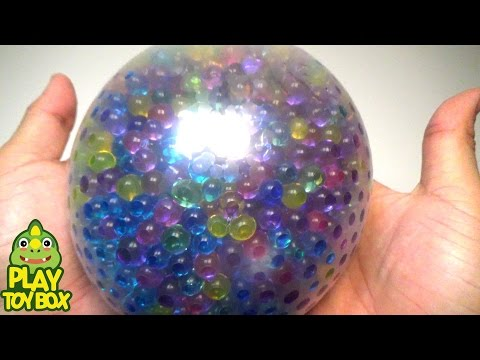 StressBall Orbeez Slide Balloon Play Doh Pokemon Kinder Joy