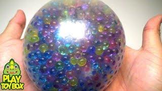 StressBall Orbeez Slide Balloon Play Doh Pokemon Kinder Joy Surprise Eggs Learn Colors