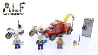 Lego City 60137 Tow Truck Trouble - Lego Speed Build Review