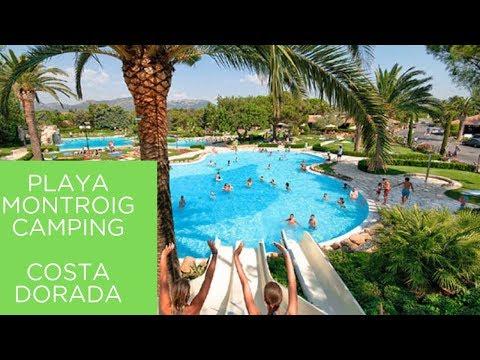 Playa Montroig Camping Costa Dorada Cambrils Salou  Kelair Campotel
