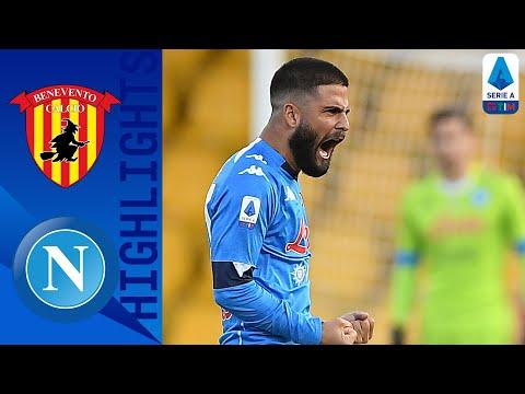 Benevento 1-2 Napoli | La rimonta è  firmata da Insigne e Petagna | Serie A TIM