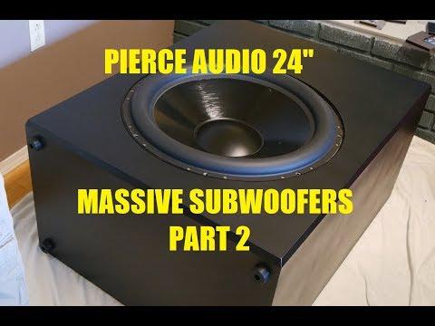 """Pierce Audio 24"""" Subwoofers Build Log Part 2"""