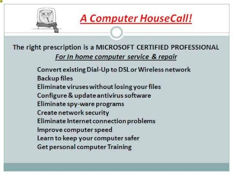 Business computer repair of Reno, Sparks, computer service