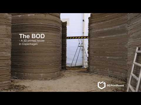 The BOD - Timelapse of the 3D printing process