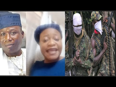 We Are Under Attack By Nigeria soldier At Sunday Igboho House: Lady K Cried Out Before Taking Away