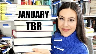 JANUARY TBR 2019 || Books I Want to Read in January!