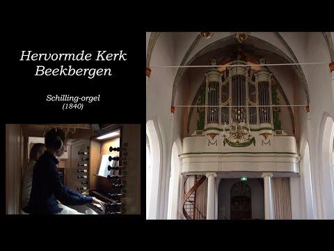 'U zij de glorie' samenzang - Hervormde Kerk Beekbergen