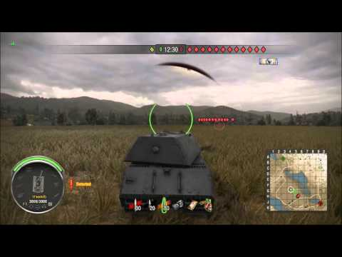 WoT Xbox - Malinovka - Road To The Maus - Bonus!