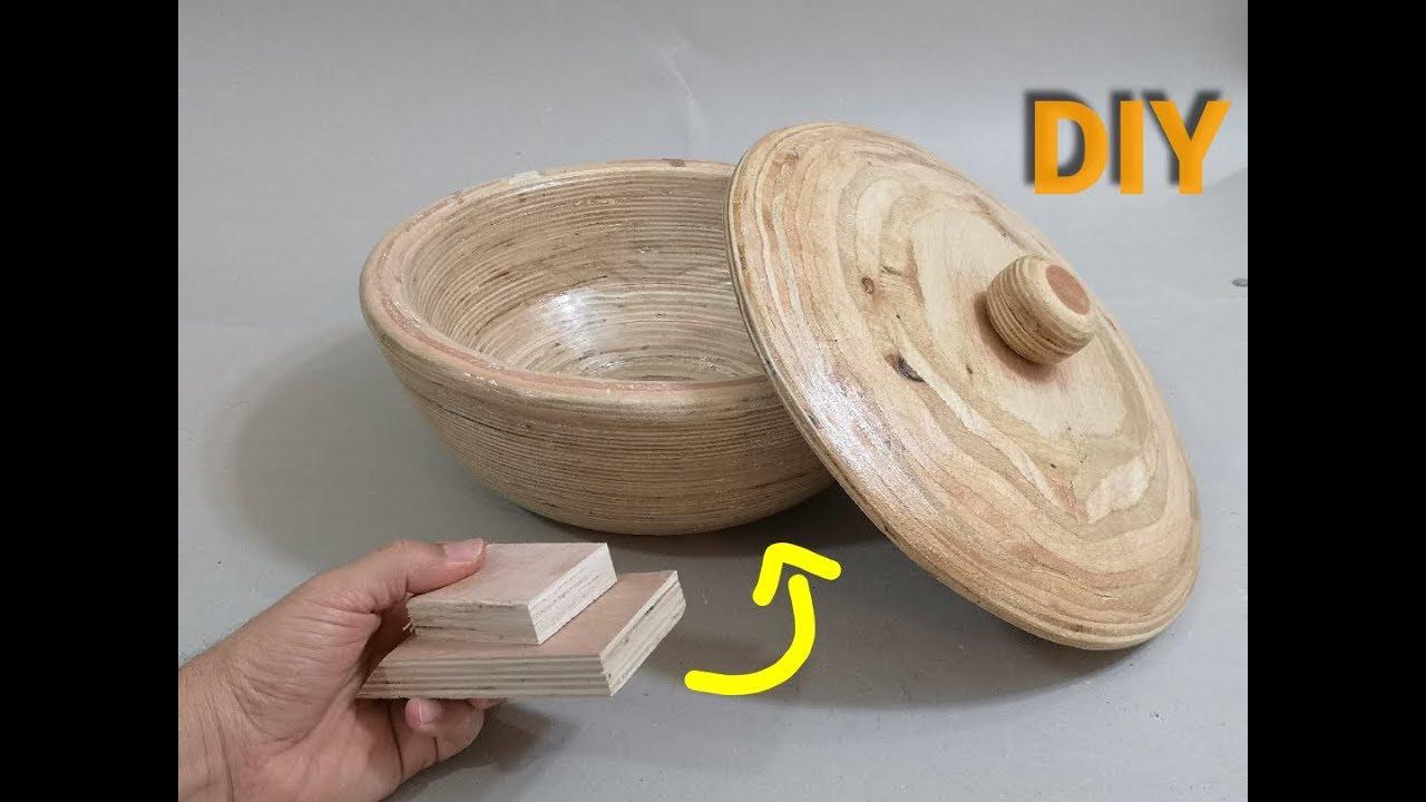 طريقة مختلفة لاستخدام الاخشاب الصناعية . DIY