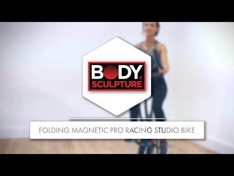 Body Sculpture - Folding Magnetic Pro Racing Studio Bike | BC4020