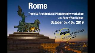 Rome Travel & Architectural Photography Workshop