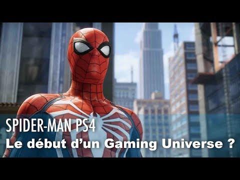 SPIDER-MAN PS4 va être le début d'un MARVEL GAMING UNIVERSE ?