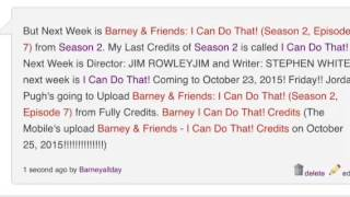 Video Barney & Friends: I Can Do That! (Season 2, Episode 7) (Longer Credits is coming soon!!!) download MP3, 3GP, MP4, WEBM, AVI, FLV Juni 2018