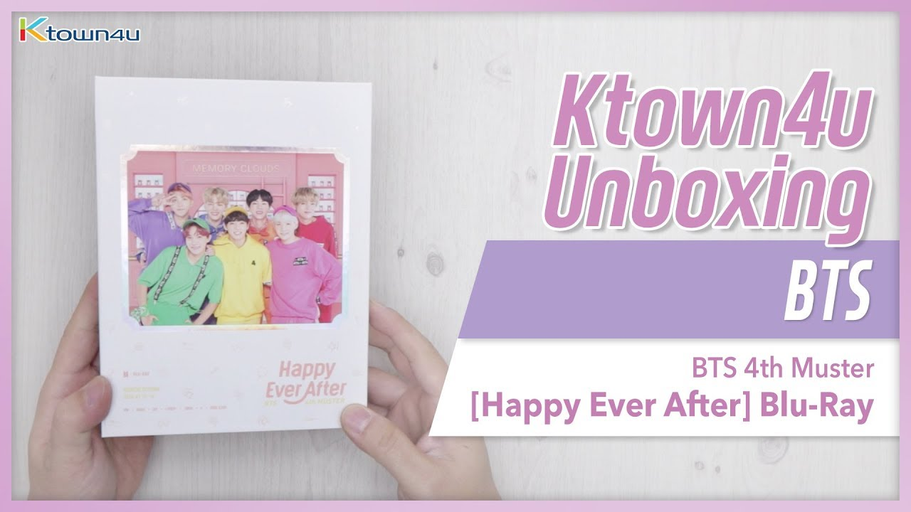 KPOP Ktown4u com : [Blu-Ray] BTS - BTS 4th MUSTER [Happy Ever After
