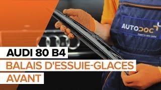 Comment remplacer des essuie-glaces avant sur une AUDI 80 B4 TUTORIEL | AUTODOC