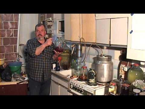 Рецепт самогон  вишня