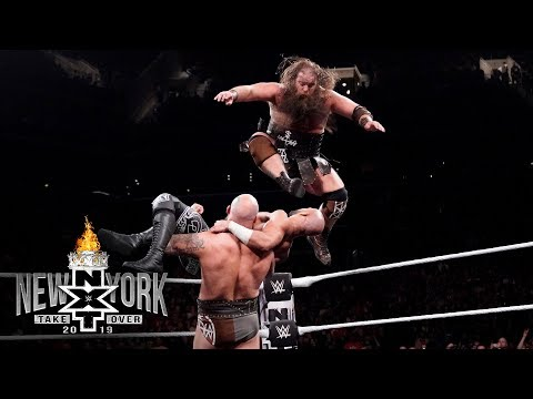 Bodies fly in explosive NXT Tag Team Title Match: NXT TakeOver: New York (WWE Network Exclusive)