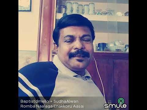 Romba Naalaga Enakkoru Aasai.. Sir & Vani Mam....I just tried. Please ignore flaws...