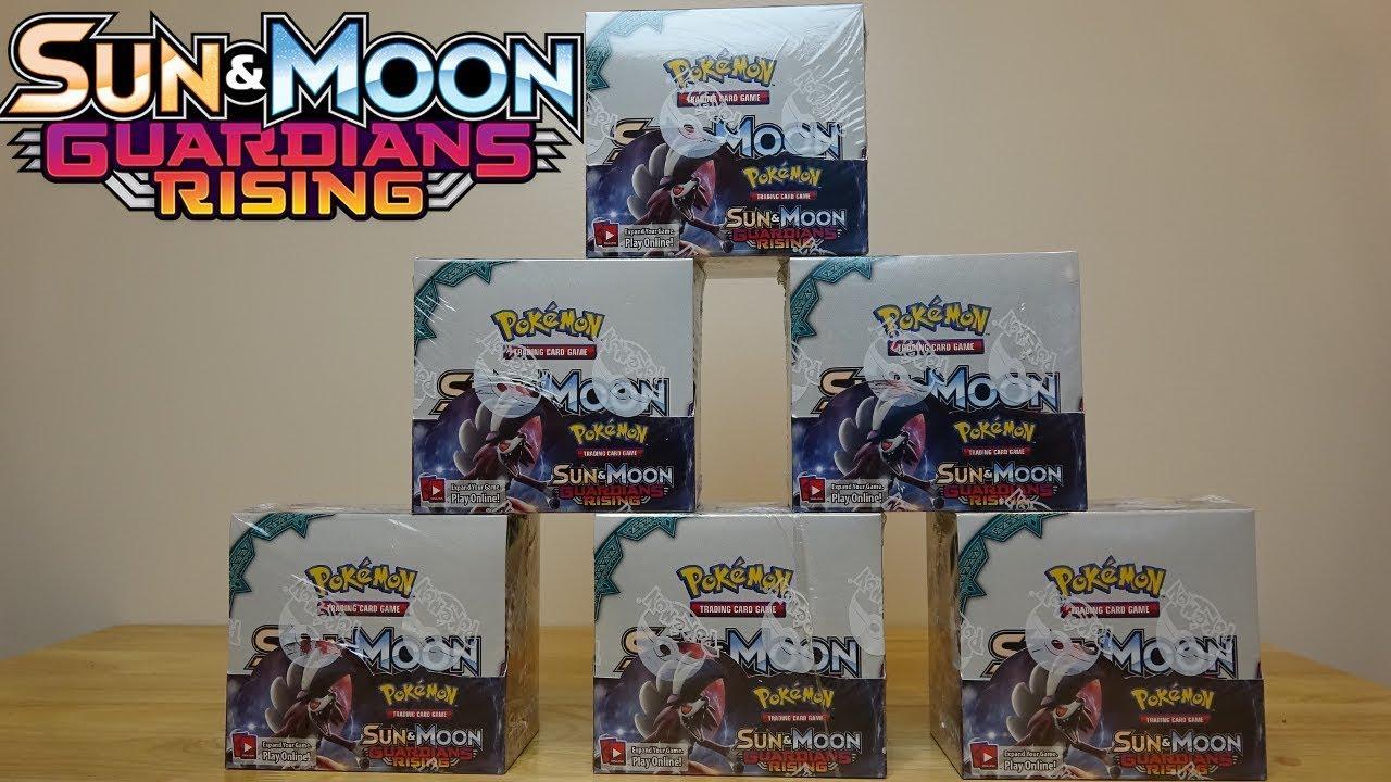 10x Pokemon Sun and Moon GUARDIANS RISING ENGLISH SEALED 10-PACKS