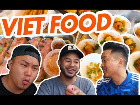 SUMMER VIETNAMESE FOOD w/ RICHIE (Nem Nuong, Banh Beo, Nem Chua)  – Fung Bros