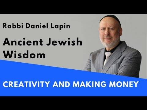 Rabbi Daniel Lapin: Creativity and Making Money