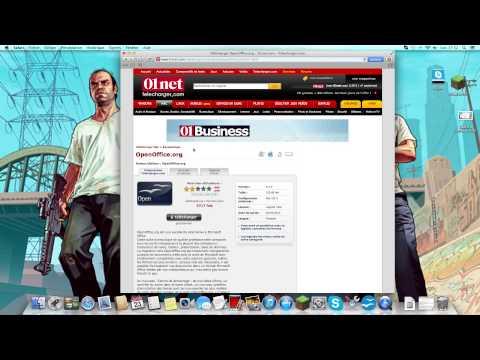 Hd tuto l comment t l charger gratuitement openoffice doovi - Comment installer office sur mac ...