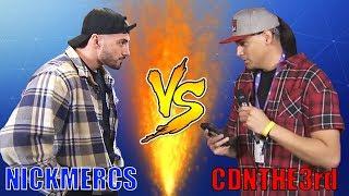 Nickmercs VS CDNThe3rd ROAST BATTLE! | Fortnite Highlights & Funny Moments