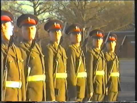 Passing Out Parade 19 Platoon Training Battalion and Depot REME 1984