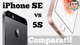 iPhone SE vs 5S - Comparatif