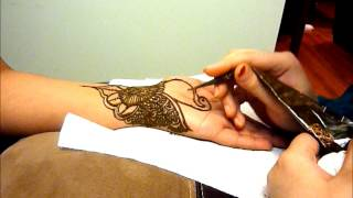 Indian Henna Tattoo Design | HD | Hennaz Art
