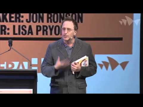 Ideas at the House: Jon Ronson - Psychopaths Make the World Go Round, Festival of Dangerous Ideas