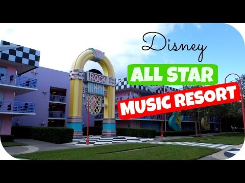 Tour Hotel Disney ❤️ ALL STAR MUSIC
