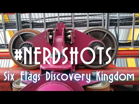 Six Flags Discovery Kingdom #NERDSHOTS | Coaster Labs