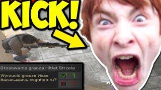 10 LATEK WYRZUCONY Z MECZU! - CS:GO FUNNY MOMENTS