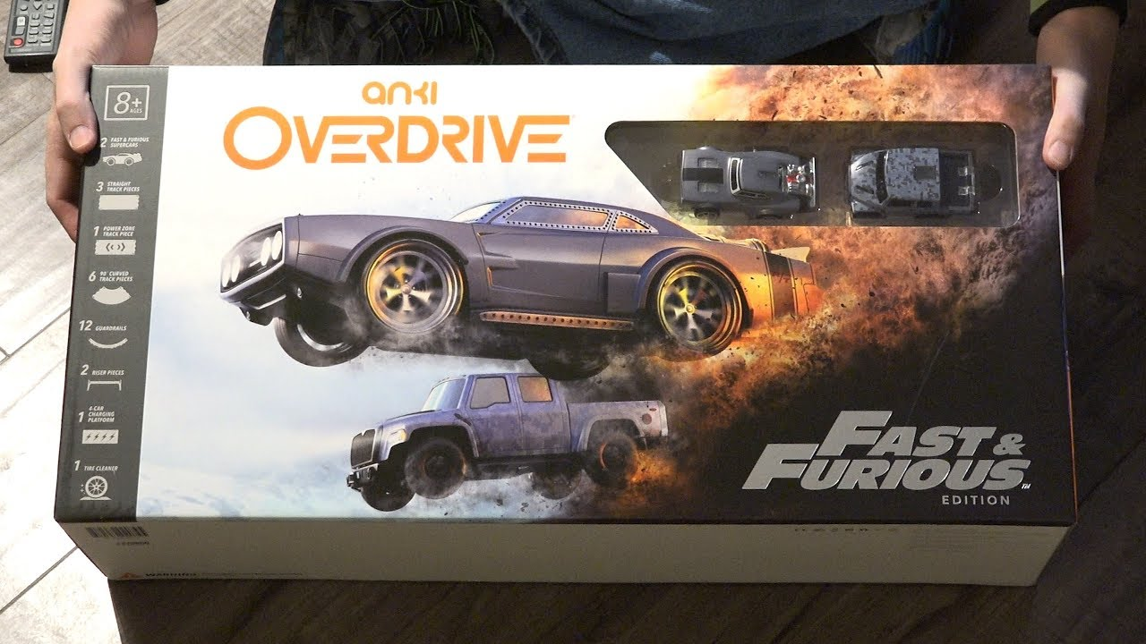 anki overdrive fast furious edition youtube. Black Bedroom Furniture Sets. Home Design Ideas