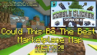 Minecraft: Cobble Clicker Skyblock By Polymaps(Review)