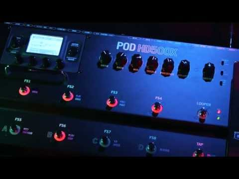 Introducing the POD HD500X Guitar Multi-Effects Processor | Line 6