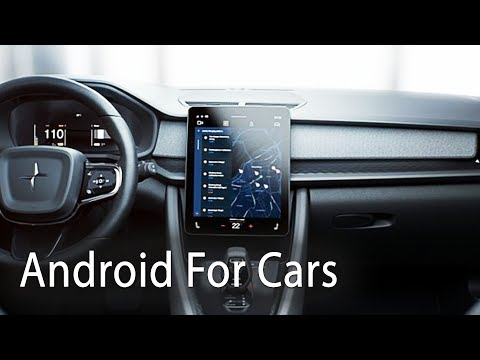 Android Automotive Demo At Google IO 2019