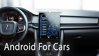 Android Automotive Demo at Google IO 2019