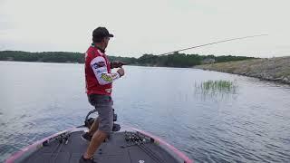 FLW Tour Pro Greg Bohannan - Fishing a Buzzbait