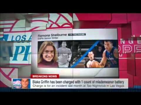 Griffin Charged With Misdemeanor Battery