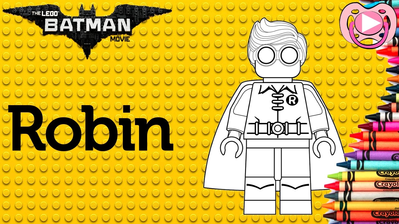 Lego Batman 2017 Colorir O Robin