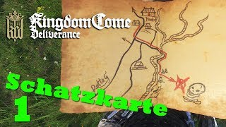 Uralte Karte 1 ★ KINGDOM COME: DELIVERANCE ★ Schatzkarte [GER   21:9]