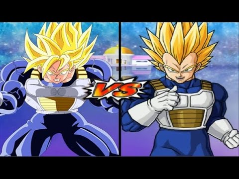 Dragon Ball Z Budokai Tenkaichi 3  - Super Goku VS Super Vegeta Red Potara